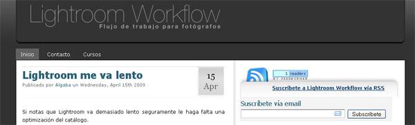 Adobe Lightroom  2 webs que ¡¡¡no te puedes perder¡¡¡