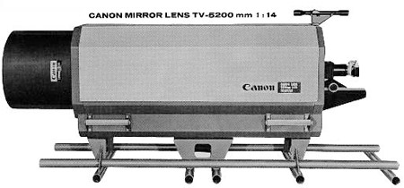 Canon 5200mm f14, este si¡¡¡ el de mayor focal fabricado por canon