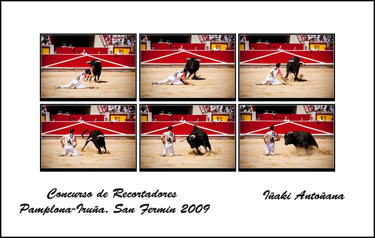 Concurso de recortadores Dia 11 Julio en San Fermin.