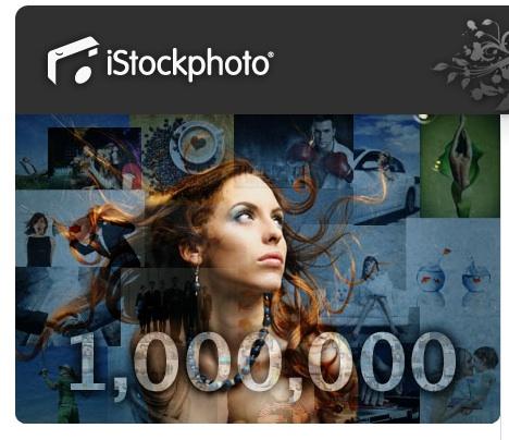 Lise Gagne ( fotografa de istockphoto ) consigue 1.000.000 de descargas.