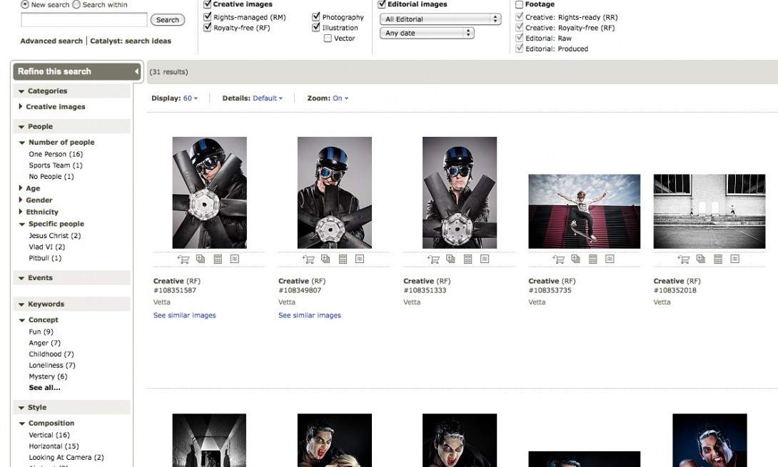 My Portfolio en Getty Images.