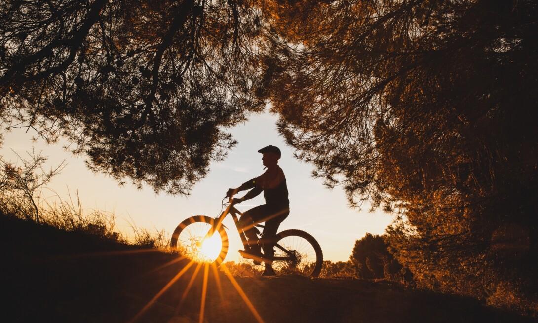 Sesión de mountain bike para @istockbygettyimages