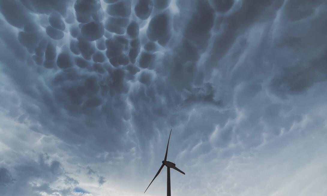 Mammatus. Se avecina tormenta.
